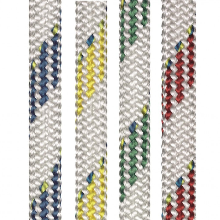 Dyneema Rope SK78 with a PES sheath DYNAMIC PLUS ø12mm 32-strand braided by Liros