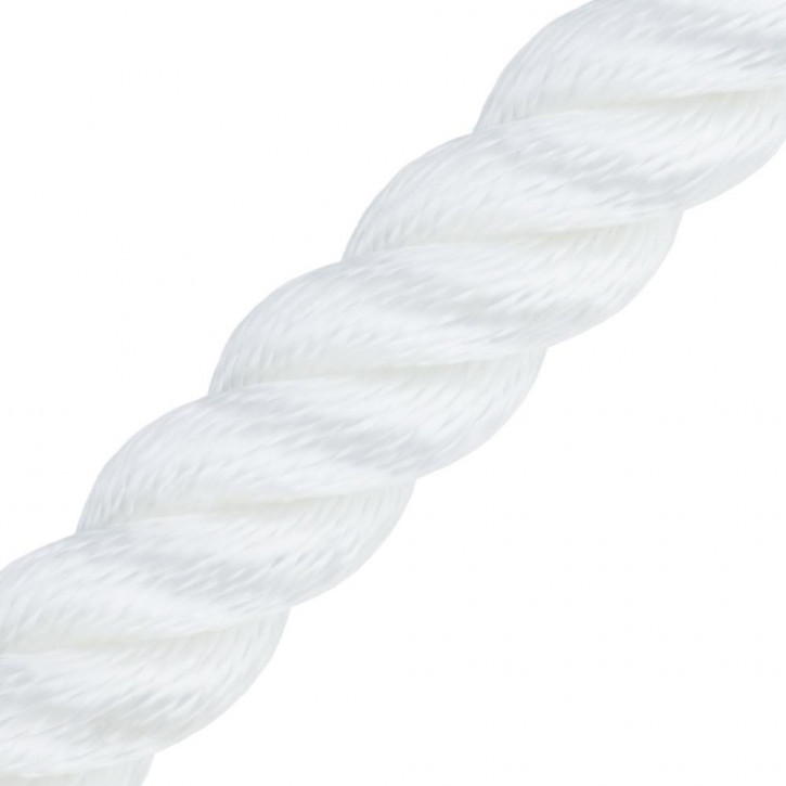 Handrail Rope MULTITWIST ø28mm by the Meter White by Kanirope®