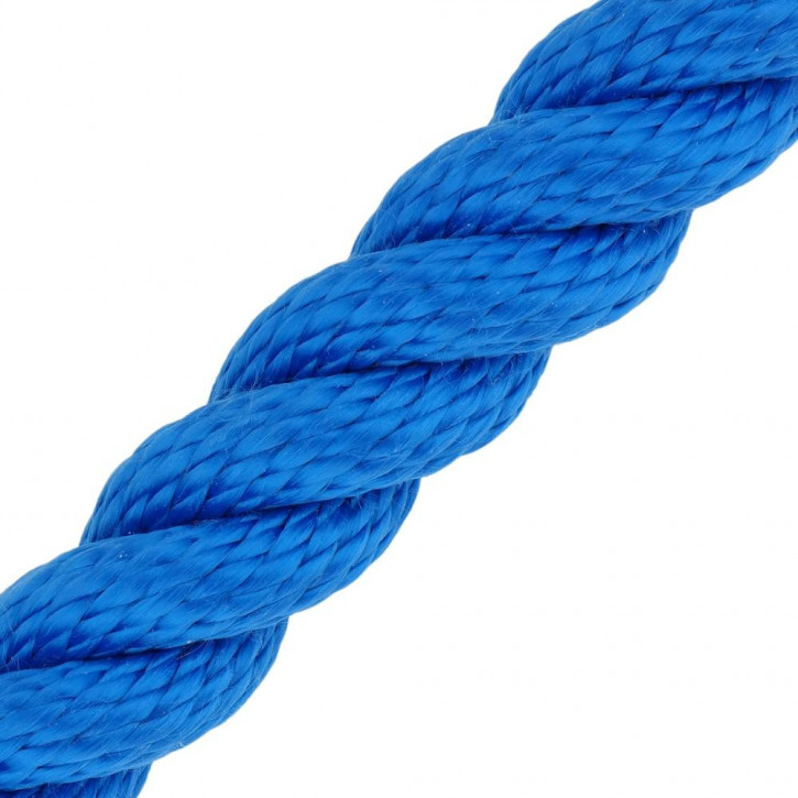 Handrail Rope MULTITWIST ø28mm by the Meter Blue by Kanirope®