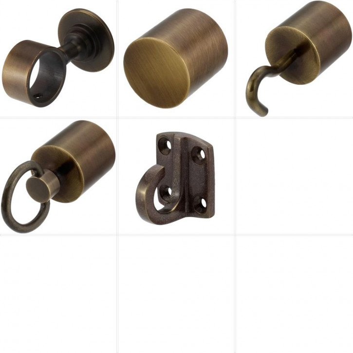 "Handrail Rope Accessories ""Bronze Plated"" by Kanirope®"