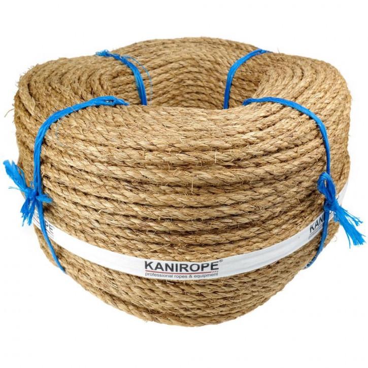 Manila Rope ABACA ø6mm 220m 3-strand Twisted by Kanirope®
