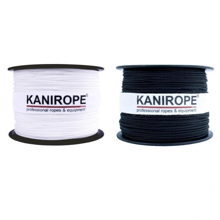 Polyester Rope POLYBRAID ø1mm 12-strand braided by Kanirope®