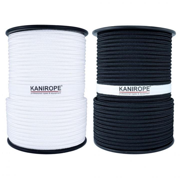 Polyester Rope POLYBRAID ø5mm 16-strand braided by Kanirope®