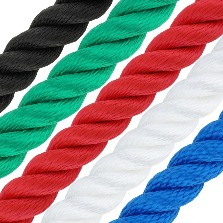 Polypropylene Rope MULTITWIST ø4mm 3-strand twisted by Kanirope®