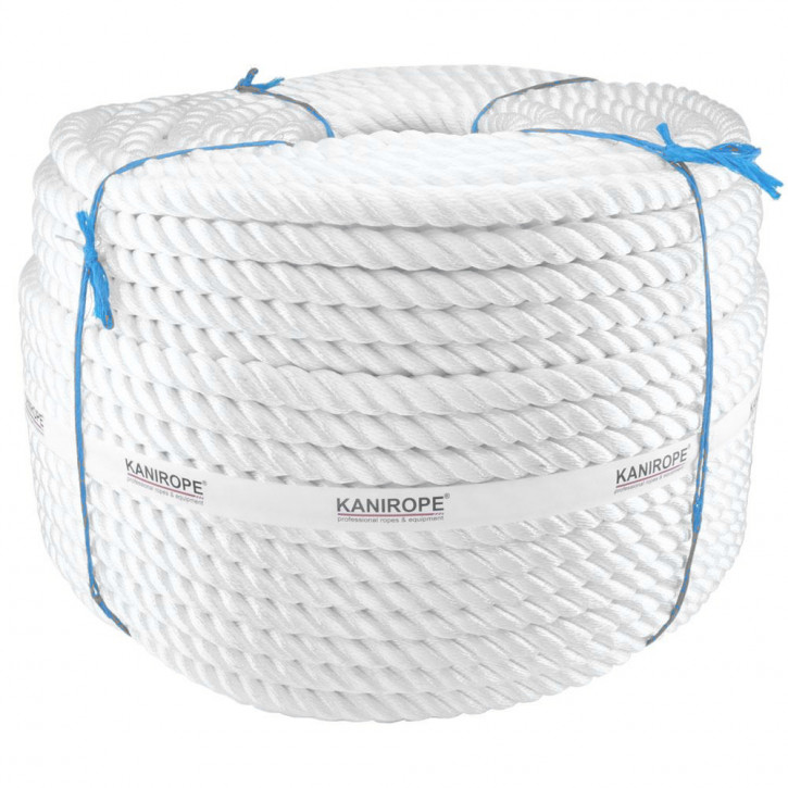 Polyamid Rope PERLONTWIST ø20mm 3-strand twisted by Kanirope®