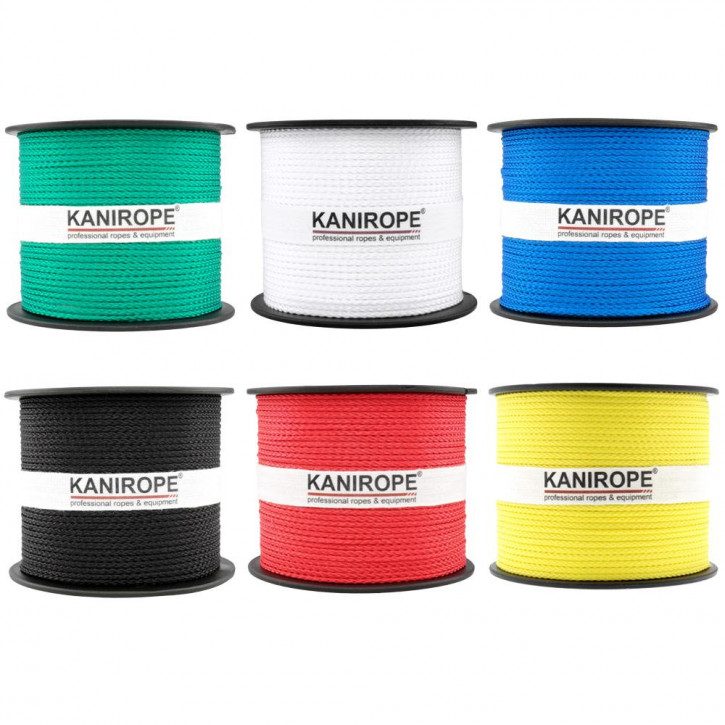 PP Rope MULTIBRAID ø1mm Standard Colours Braided by Kanirope®
