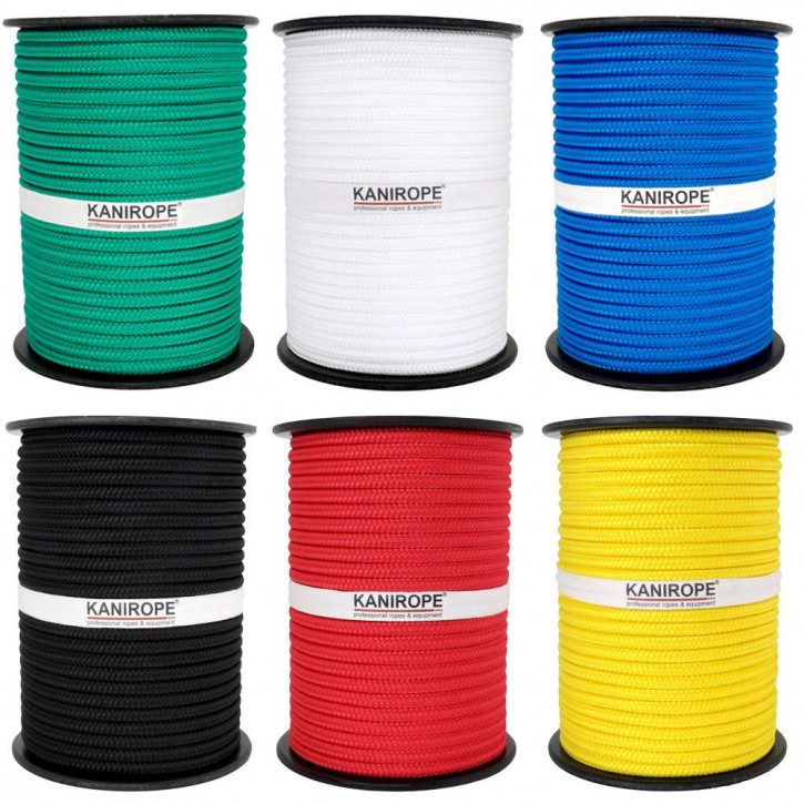 PP Rope MULTIBRAID ø16mm Standard Colours Braided by Kanirope®