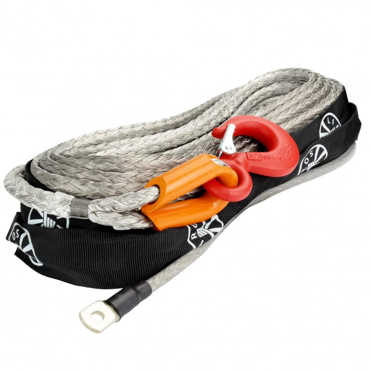 Liros Offroad winch rope Dyneema ø10mm for 4,3t