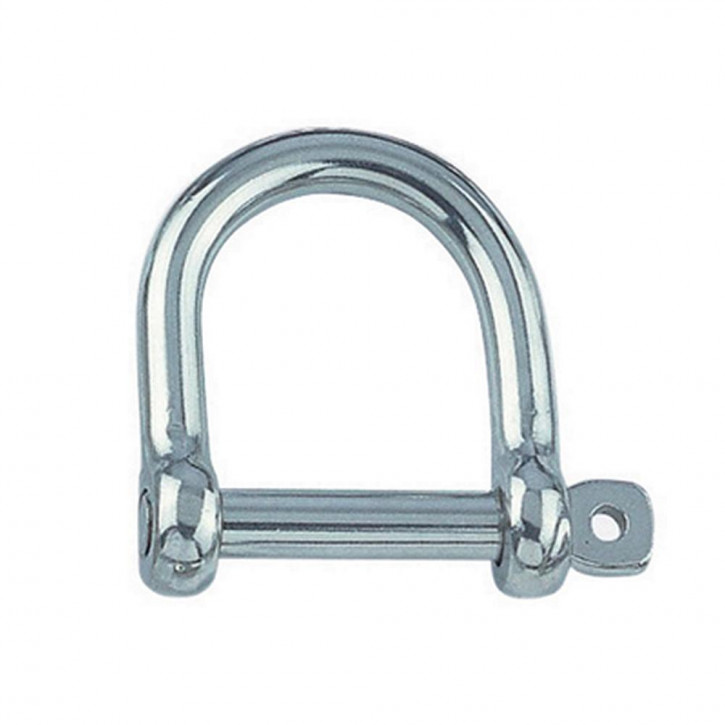 """D Shackle """"Wide Form"""" Stainless Steel"""