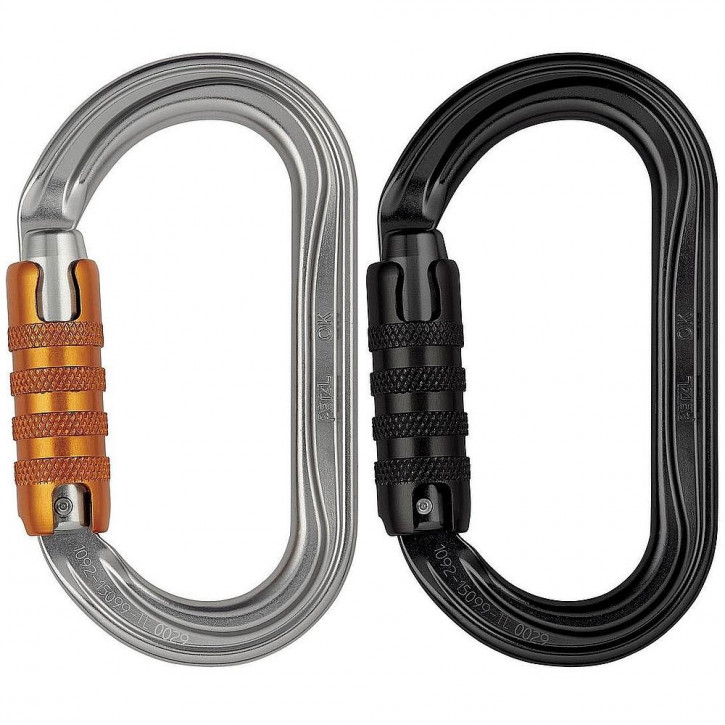 Carabiner OK TRIACT-LOCK by Petzl®