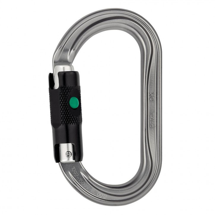 Carabiner OK BALL-LOCK by Petzl®
