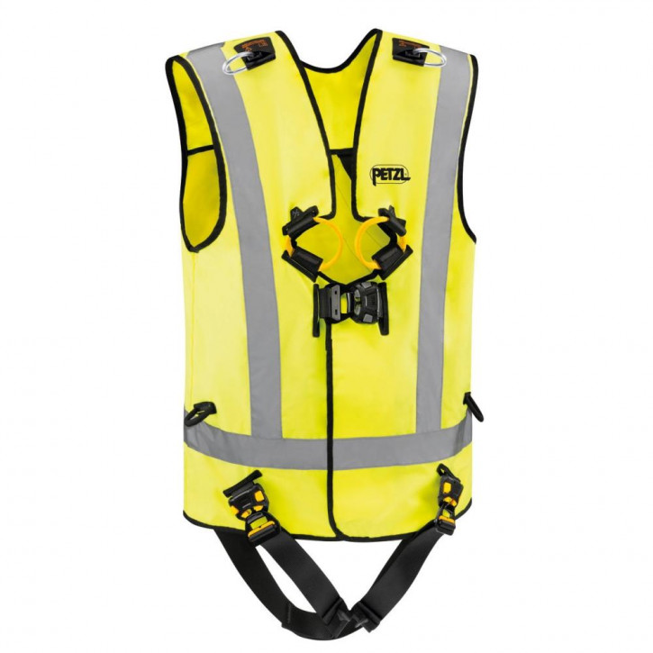 Fall arrest harness NEWTON EASYFIT HI-VIZ by Petzl®