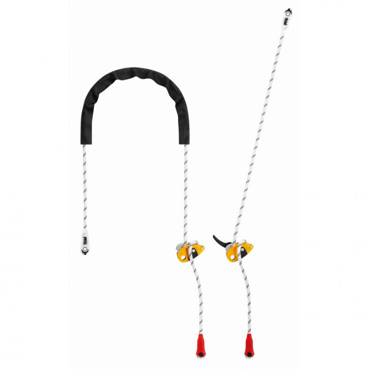 Adjustable lanyard for work positioning GRILLON by Petzl®