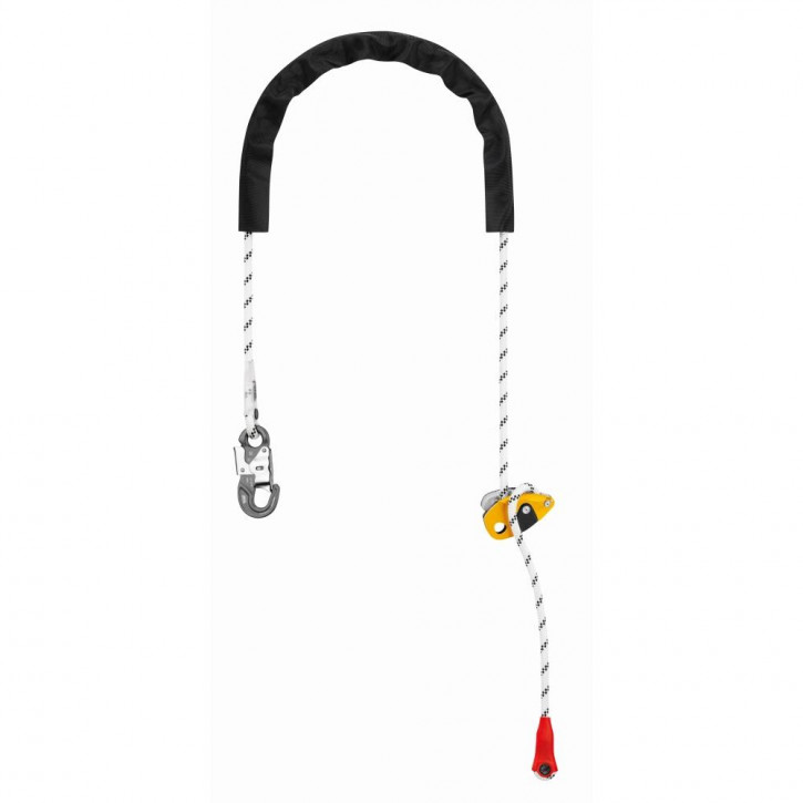Adjustable lanyard GRILLON HOOK european version by Petzl®
