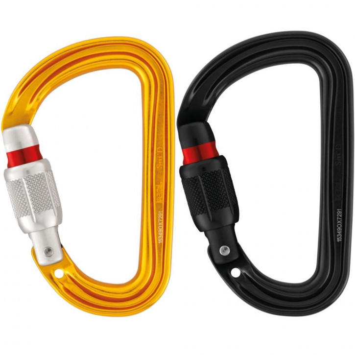 Carabiner SM D SCREW-LOCK by Petzl®