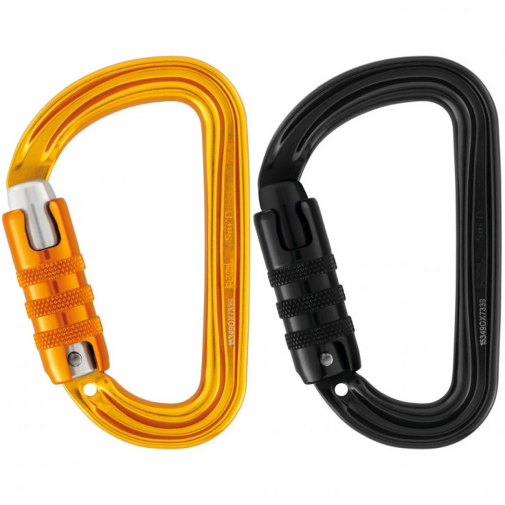Carabiner SM D TRIACT-LOCK by Petzl®