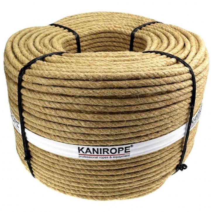 Jute Rope J-TWIST ø6mm 3-strand twisted by Kanirope®