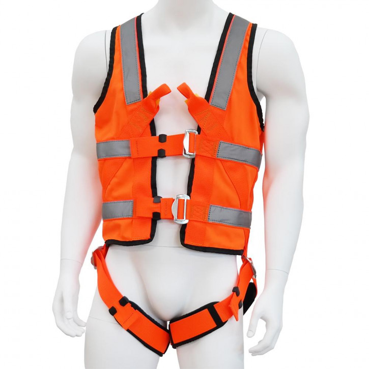 Harness with vest ECOVEST REFLECTOR by Kanirope®