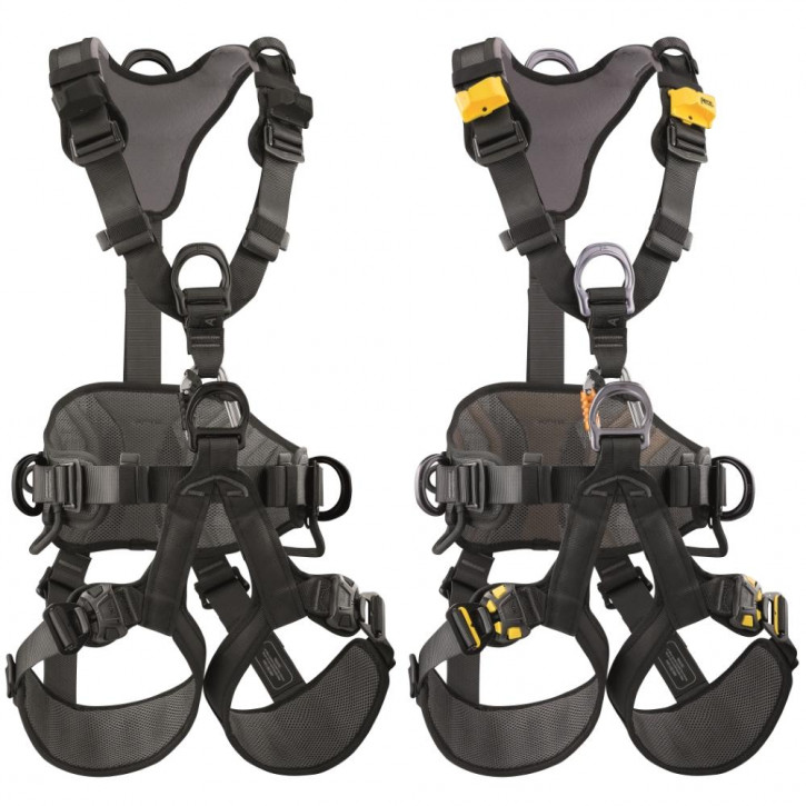 Fall arrest harness AVAO BOD FAST international version by Petzl®