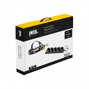 Pack of 5 DUO Z1 with charging rack by Petzl®
