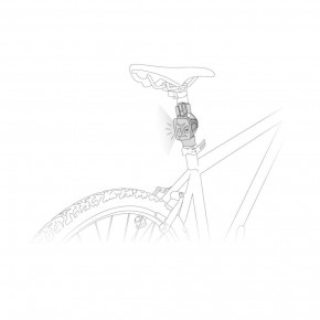 Plate for mounting BIKE ADAPT by Petzl®